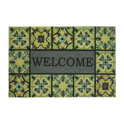 Mohawk Home Bohemian Rectangular Outdoor Doormat