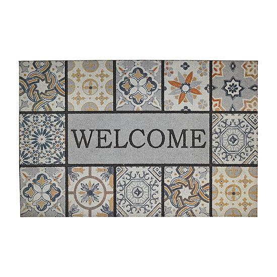 Mohawk Home Tiles Rectangular Outdoor Doormat