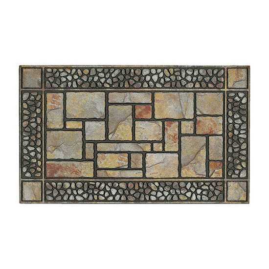 Mohawk Home Stones Rectangular Outdoor Doormat