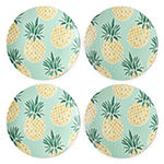 Outdoor Oasis Melamine Dinner Plate Set of 4