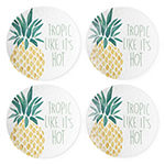 Outdoor Oasis Salad Plates Set of 4