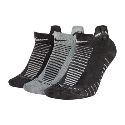 Nike Dry Cushion Gfx 3 Pair No Show Socks - Womens