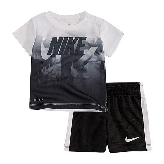 Nike 2 Pc Short Set Baby Boys