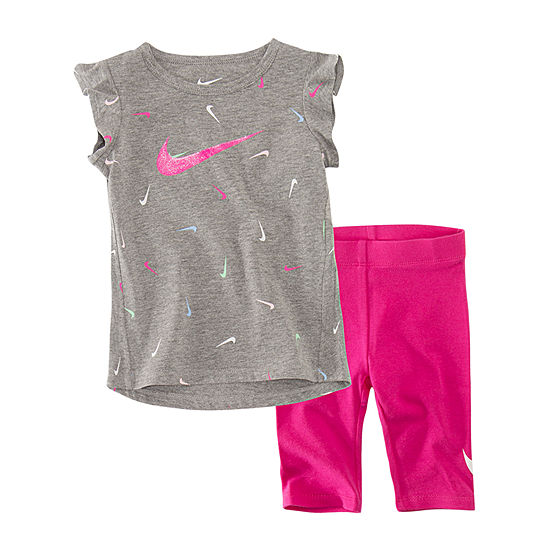 Nike Girls 2-pc. Pant Set Baby