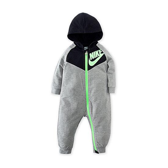 Nike Long Sleeve Romper - Baby Unisex