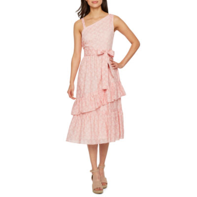 Vivi By Violet Weekend Sleeveless Floral Fit & Flare Dress