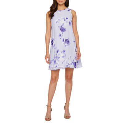 Jessica Howard Sleeveless Floral Shift Dress