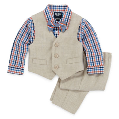 IZOD 4-pc. Suit Set Baby Boys
