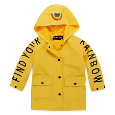 S Rothschild Hooded Lightweight Raincoat-Preschool Girls