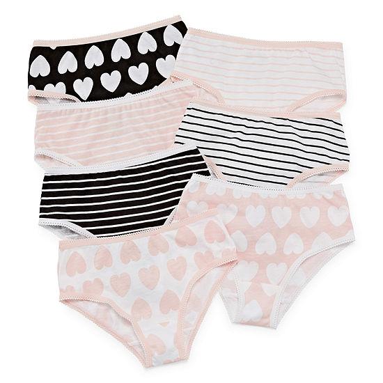 Okie Dokie 7-pc. Brief Panty Toddler Girls