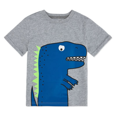 Okie Dokie Dinosaur Tee with Sound Toddler Boys