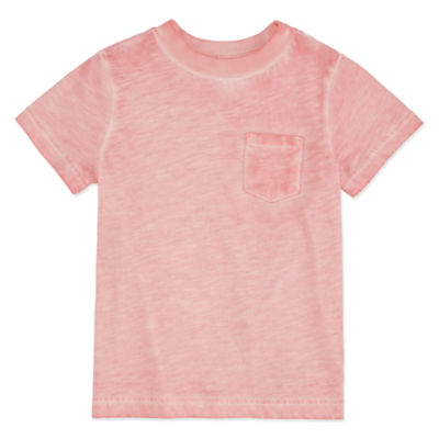 Peyton & Parker Boys Crew Neck Short Sleeve T-Shirt-Toddler