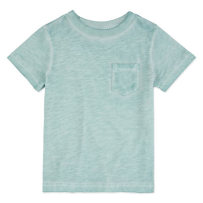 Peyton & Parker Boys Crew Neck Short Sleeve T-Shirt-Toddler