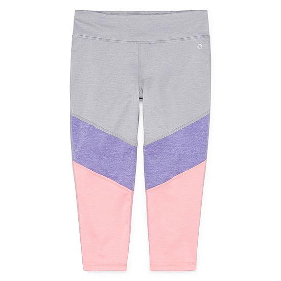 Xersion Colorblock Capri Girls 4 16 Plus