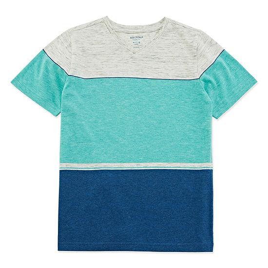 Arizona Boys V Neck Short Sleeve T-Shirt Preschool / Big Kid