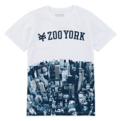 Zoo York Boys Crew Neck Short Sleeve Graphic T-Shirt Preschool / Big Kid