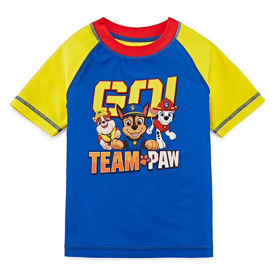 Toddler Boys Paw Patrol Rash Guard