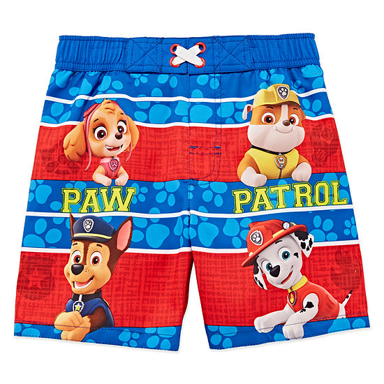 Boys Paw Patrol Swim Trunks Toddler