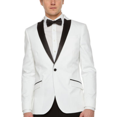 JF J.Ferrar Slim Fit Stretch Tuxedo Jacket