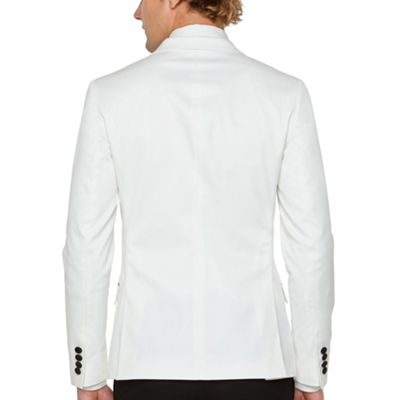 JF J.Ferrar Super Slim Fit Stretch Tuxedo Jacket