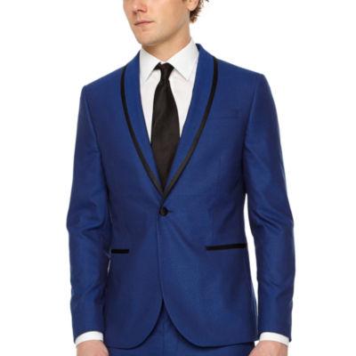 JF J.Ferrar Super Slim Fit Stretch Tuxedo Jacket
