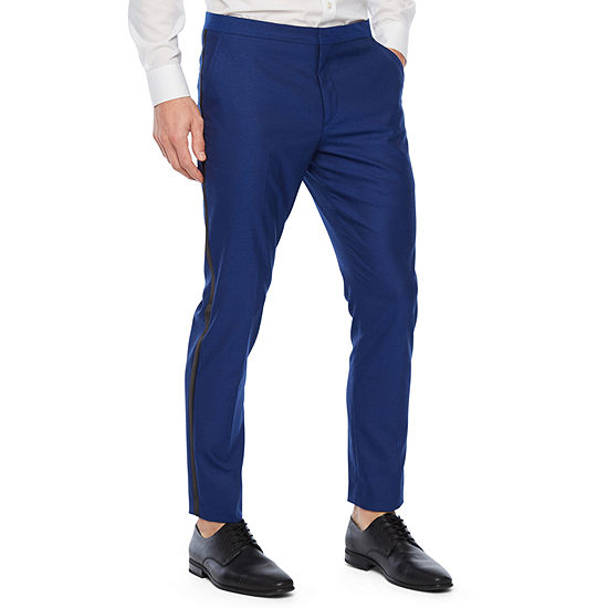 JF J.Ferrar Stretch Super Slim Fit Tuxedo Pants