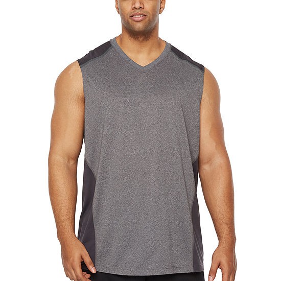 Msx By Michael Strahan Mens V Neck Sleeveless Tank Top Big And Tall