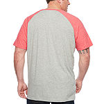 The Foundry Supply Co. Mens Crew Neck Short Sleeve T-Shirt-Big and Tall