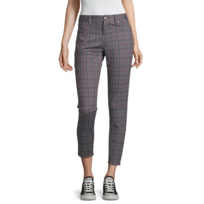 Almost Famous Womens Mid Rise Ankle Pull-On Pants-Juniors