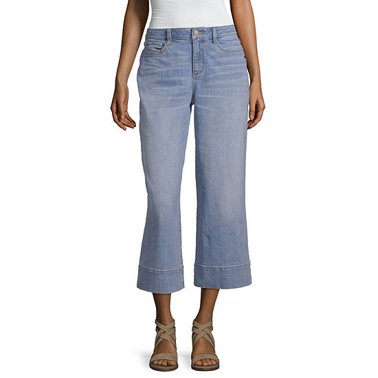 a.n.a High Waisted Cropped Jean