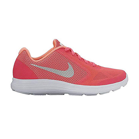 Nike® Revolution 3 Girls Running Shoes - Big Kids