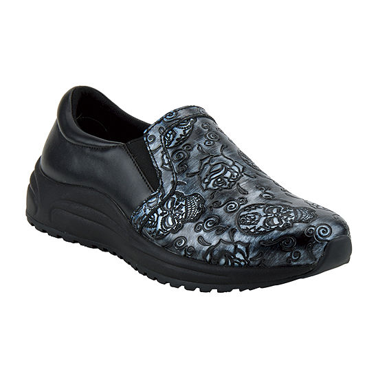 Spring Step Professionals Womens Active Closed Toe Slip-On Shoe