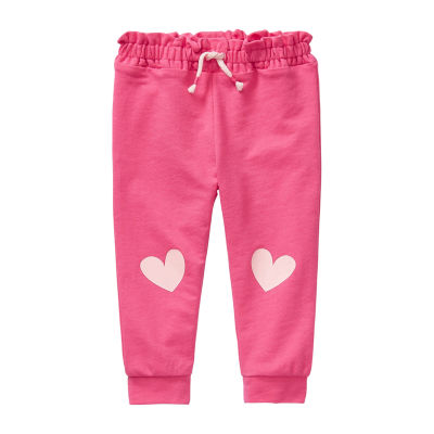 Okie Dokie Baby Girls Cuffed Jogger Pant