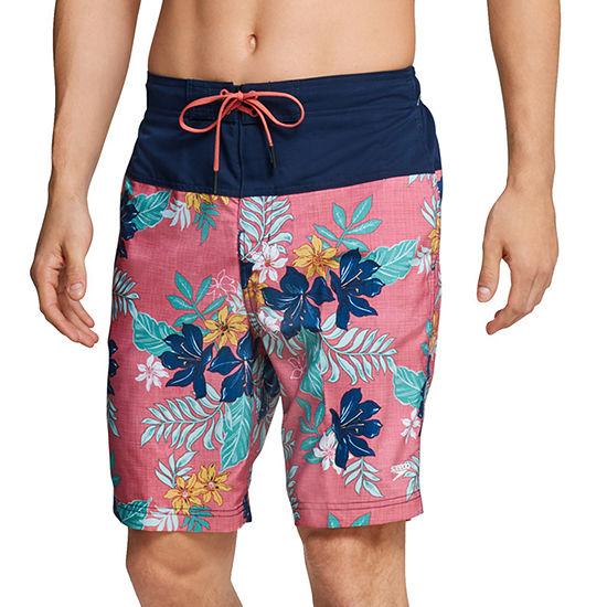 "Speedo Hawaiian Floral Bondi 9"" Board Shorts"