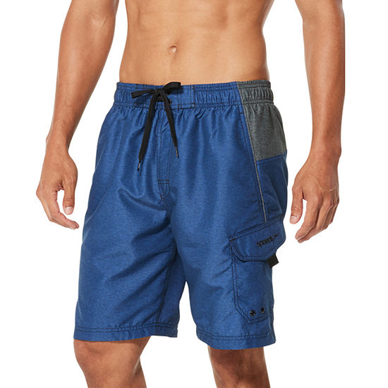 "Speedo Marina Sport Microfiber 9"" Volley Shorts"