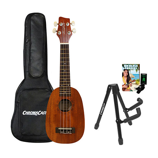 Sawtooth Mahogany Pineapple Soprano Ukulele Kit