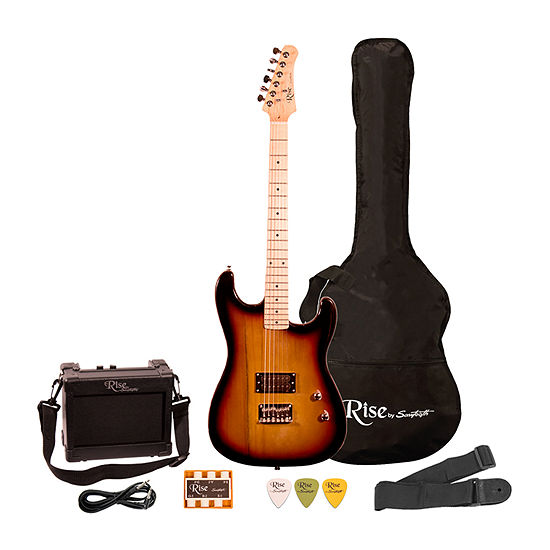 Rise by Sawtooth Right-Handed 3/4-Size Beginner's Electric Guitar Kit