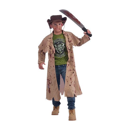 Kids Zombie Hunter Costume Costume