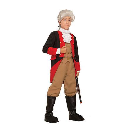 Boys British Red Coat Costume Boys Costume Boys Costume, Small , Multiple Colors