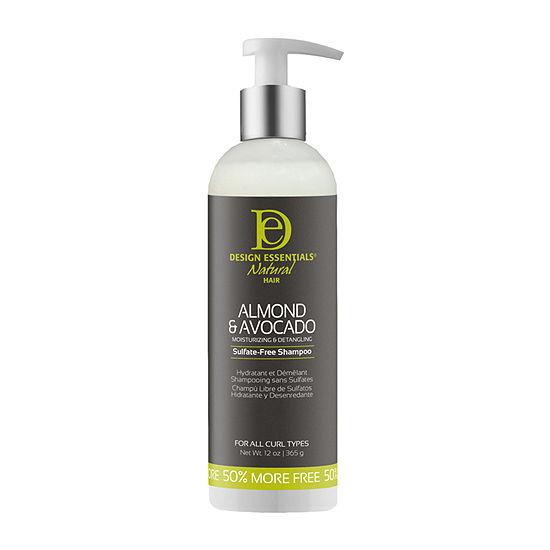 Design Essentials Almond & Avocado Sulfate-Free Shampoo - 12 oz.