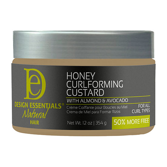Design Essentials Curl Forming Custard w/Almond & Avocado - 12oz