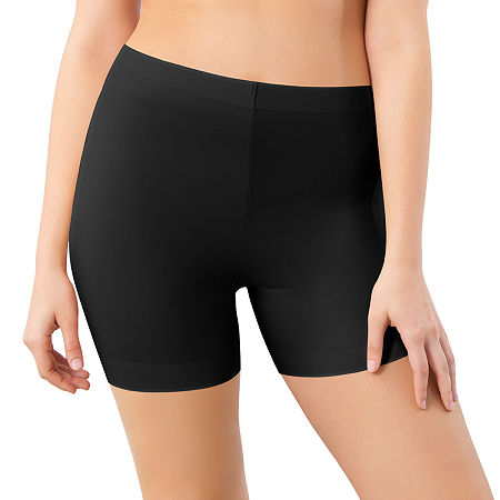 Maidenform Cover Your Bases Thigh Slimmers - Dms081, Small , Black