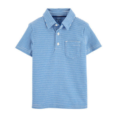 Carter's - Toddler Boys Short Sleeve Polo Shirt