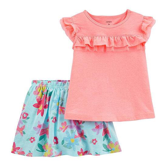 Carter's Girls 2-pc. Skort Set