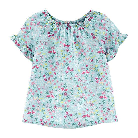 Carter's Toddler Girls Short Sleeve T-Shirt