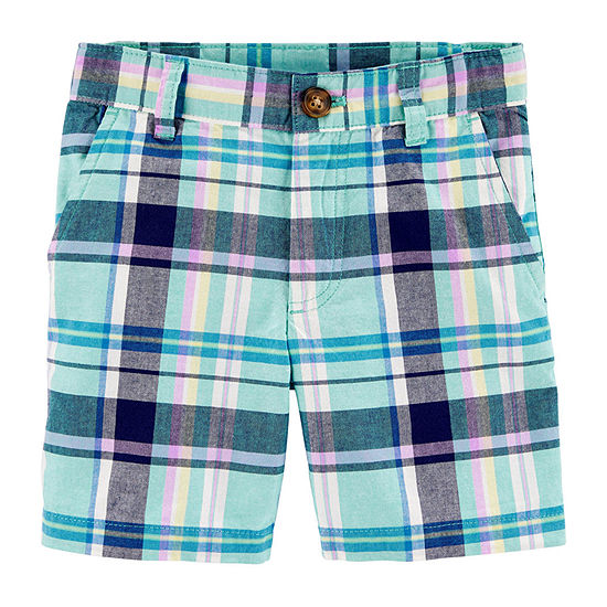 Carter's Toddler Boys Mid Rise Adjustable Waist Chino Short