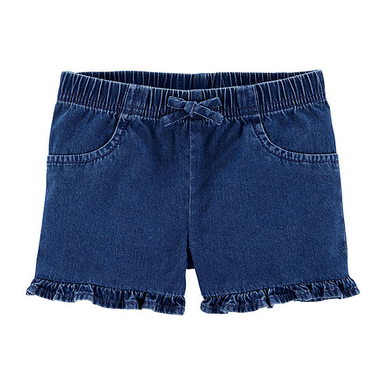 Carter's Toddler Girls Mid Rise Pull-On Short