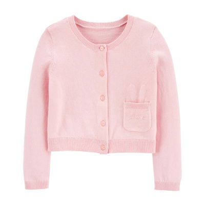 Carter's Toddler Girls Long Sleeve Cardigan