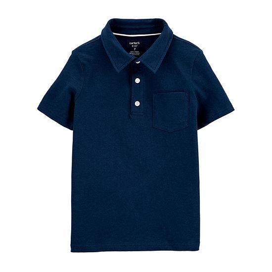 Carter's Little Kid / Big Kid Boys Short Sleeve Polo Shirt