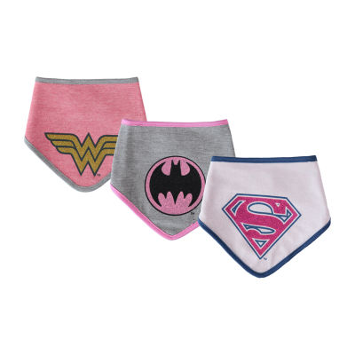 Girls DC Comics 3-pc. Bib